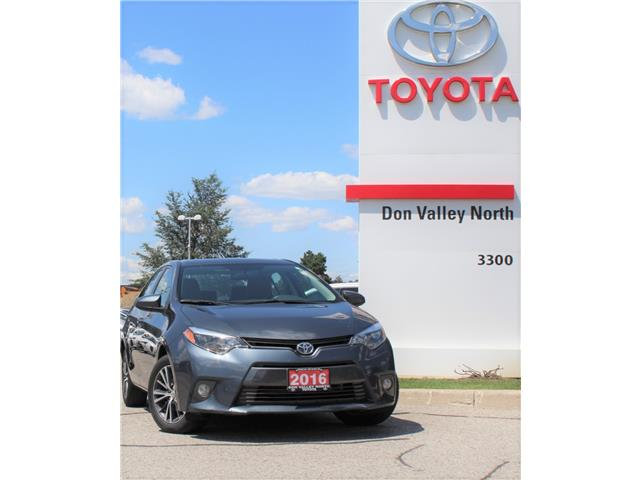 2016 Toyota Corolla LE (Stk: 305025S) in Markham - Image 1 of 1