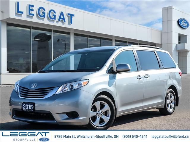 2015 Toyota Sienna  (Stk: 21H1034AA) in Stouffville - Image 1 of 28