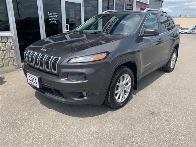 2015 Jeep Cherokee North (Stk: 211186) in Chatham - Image 1 of 12