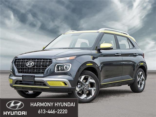2021 Hyundai Venue Trend w/Urban PKG - Grey-Lime Interior (IVT) (Stk: 21128) in Rockland - Image 1 of 23