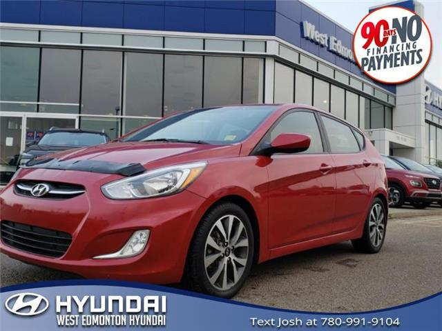 2017 Hyundai Accent SE (Stk: E5723A) in Edmonton - Image 1 of 21