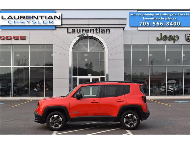 2018 Jeep Renegade Sport (Stk: 21334A) in Greater Sudbury - Image 1 of 29