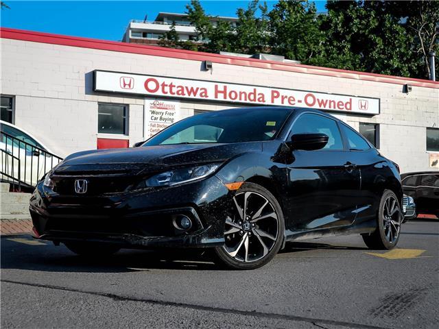 2019 Honda Civic Sport (Stk: H91590) in Ottawa - Image 1 of 27