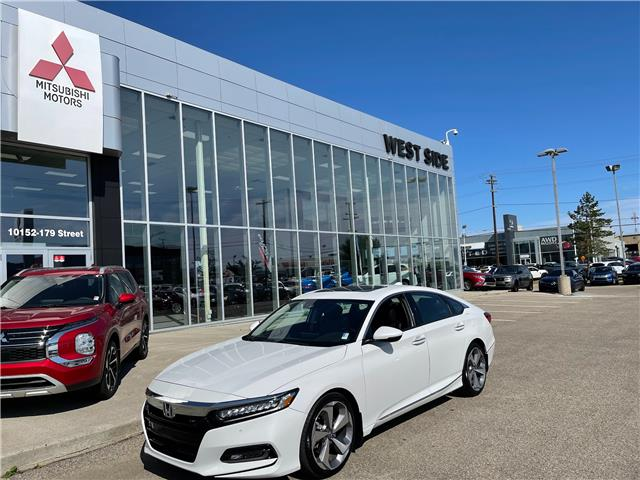 2018 Honda Accord Touring 2.0T (Stk: T22053A) in Edmonton - Image 1 of 30