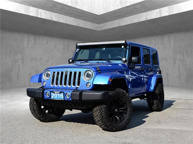 2016 Jeep Wrangler Unlimited Sahara (Stk: 9842A) in Penticton - Image 1 of 17