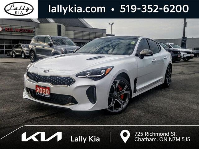 2020 Kia Stinger GT Limited w/Red Interior (Stk: K4165) in Chatham - Image 1 of 26