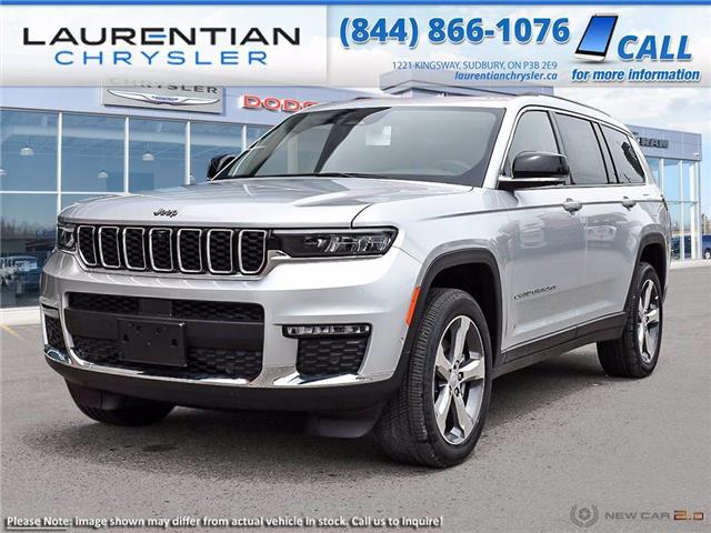 2021 Jeep Grand Cherokee L Limited (Stk: 21356) in Greater Sudbury - Image 1 of 19