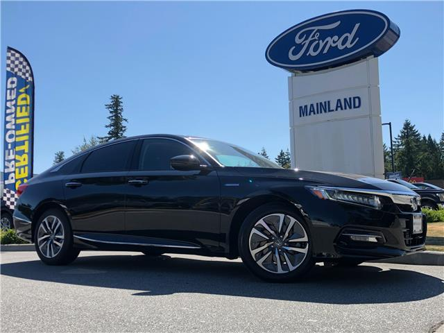 2019 Honda Accord Hybrid Touring (Stk: 21ME5457A) in Vancouver - Image 1 of 30