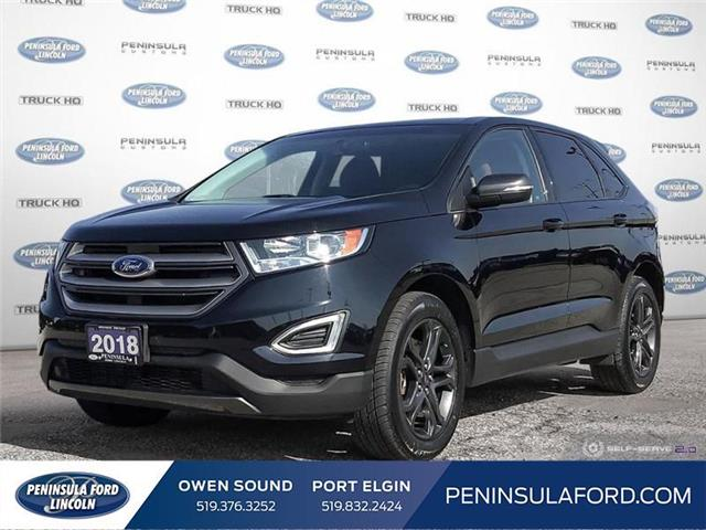 2018 Ford Edge SEL (Stk: 2346) in Owen Sound - Image 1 of 28
