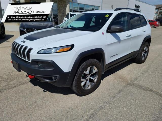 2018 Jeep Cherokee Trailhawk (Stk: A0340) in Steinbach - Image 1 of 24