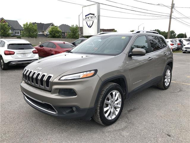 2017 Jeep Cherokee Limited (Stk: 21264) in Ottawa - Image 1 of 21