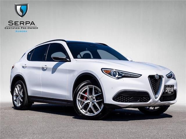 2018 Alfa Romeo Stelvio ti (Stk: P1540) in Aurora - Image 1 of 27
