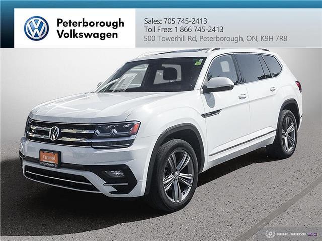 2019 Volkswagen Atlas 3.6 FSI Execline (Stk: 2118) in Peterborough - Image 1 of 21