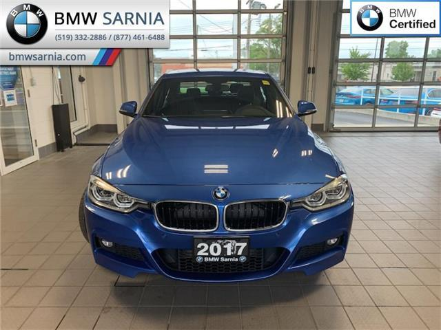 2017 BMW 330i xDrive (Stk: BU906) in Sarnia - Image 1 of 10