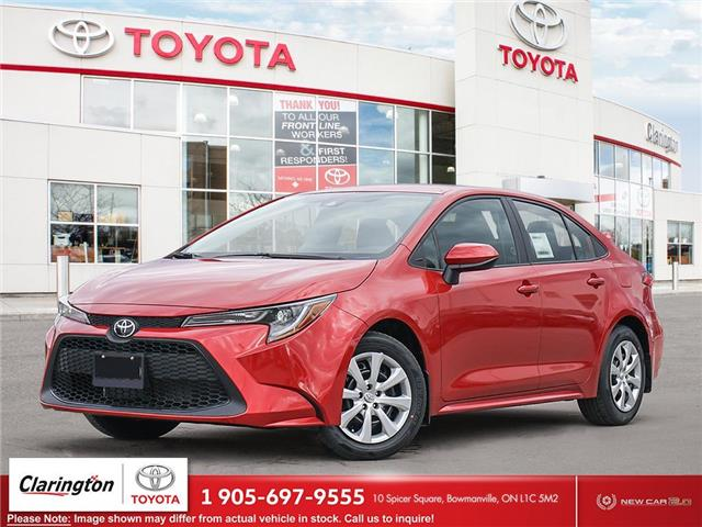 2021 Toyota Corolla LE (Stk: 21666) in Bowmanville - Image 1 of 23