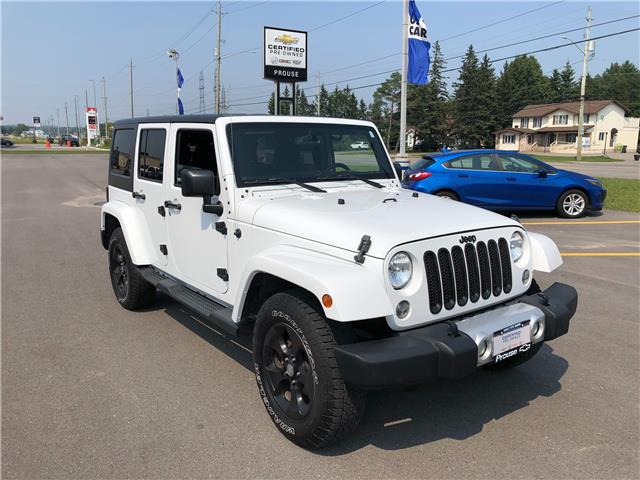 2015 Jeep Wrangler Unlimited Sahara 1C4HJWEG6FL500521 6420-21A in Sault Ste. Marie