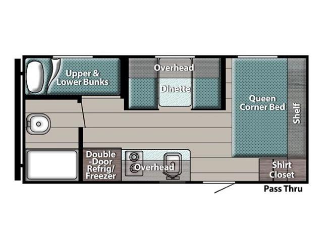New 2022 Gulfstream TRAILMASTER 199DD   - Edmonton - Heartland Wholesale & RV
