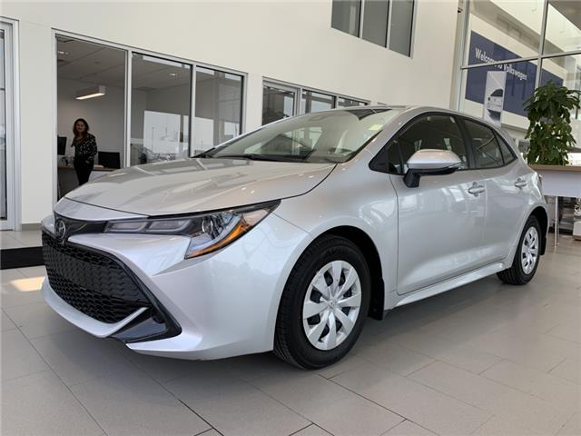 2020 Toyota Corolla Hatchback Base JTNK4RBE1L3095791 F0498 in Saskatoon