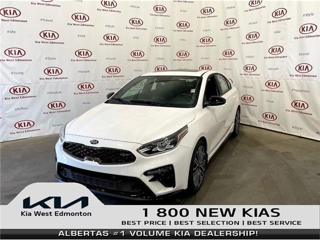 2021 Kia Forte GT (Stk: 23126) in Edmonton - Image 1 of 27