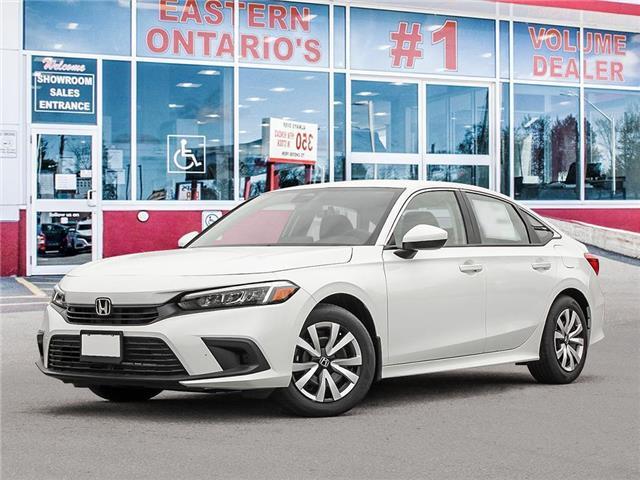 2022 Honda Civic LX (Stk: 348350) in Ottawa - Image 1 of 23