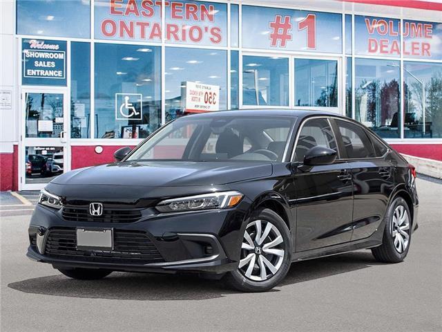 2022 Honda Civic LX (Stk: 348780) in Ottawa - Image 1 of 23