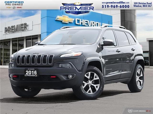 2016 Jeep Cherokee Trailhawk (Stk: TR49804) in Windsor - Image 1 of 28