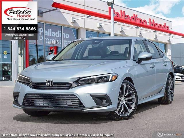2022 Honda Civic Touring (Stk: 23452) in Greater Sudbury - Image 1 of 23