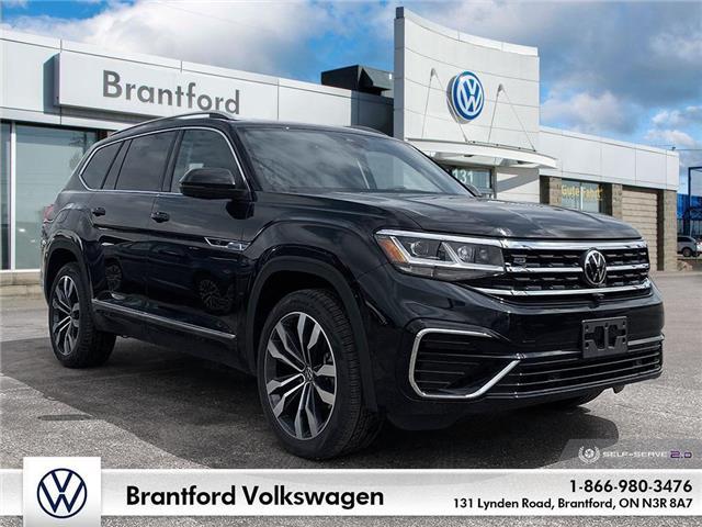 2021 Volkswagen Atlas 3.6 FSI Execline (Stk: AT21639) in Brantford - Image 1 of 26