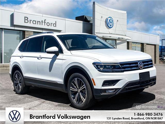 2021 Volkswagen Tiguan Highline (Stk: TI21033) in Brantford - Image 1 of 26