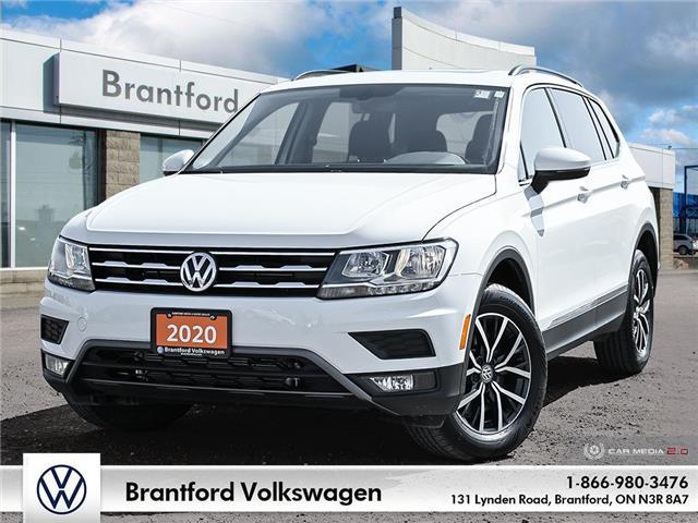 2020 Volkswagen Tiguan Comfortline (Stk: P46660) in Brantford - Image 1 of 29