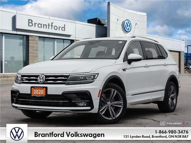 2020 Volkswagen Tiguan Highline (Stk: P21702) in Brantford - Image 1 of 27
