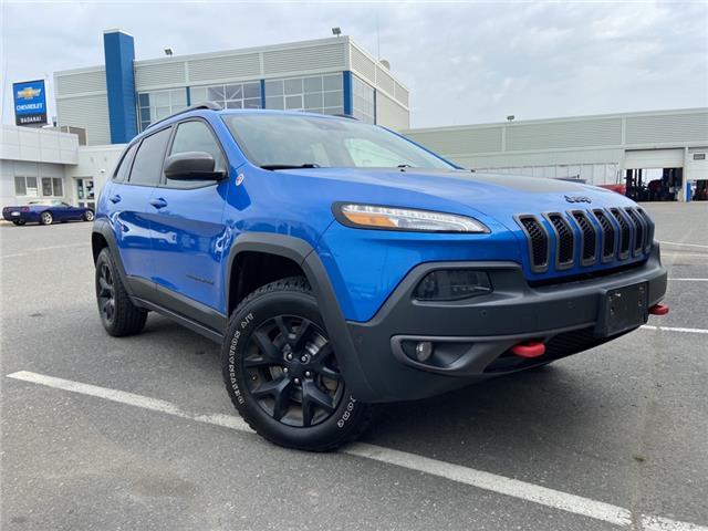 2018 Jeep Cherokee Trailhawk 1C4PJMBX5JD535218 M365A in Thunder Bay