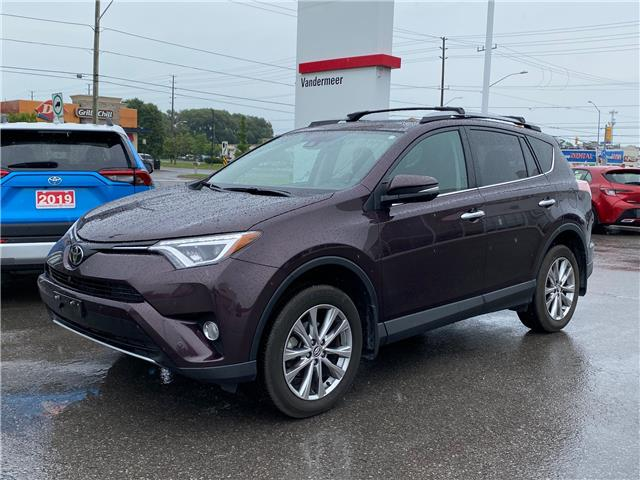 2017 Toyota RAV4 Limited (Stk: TX284A) in Cobourg - Image 1 of 1