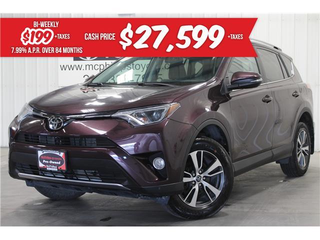 2017 Toyota RAV4 XLE (Stk: W212141A) in Winnipeg - Image 1 of 28