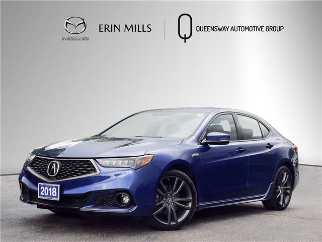 2018 Acura TLX Tech A-Spec (Stk: 21-0595A) in Mississauga - Image 1 of 27