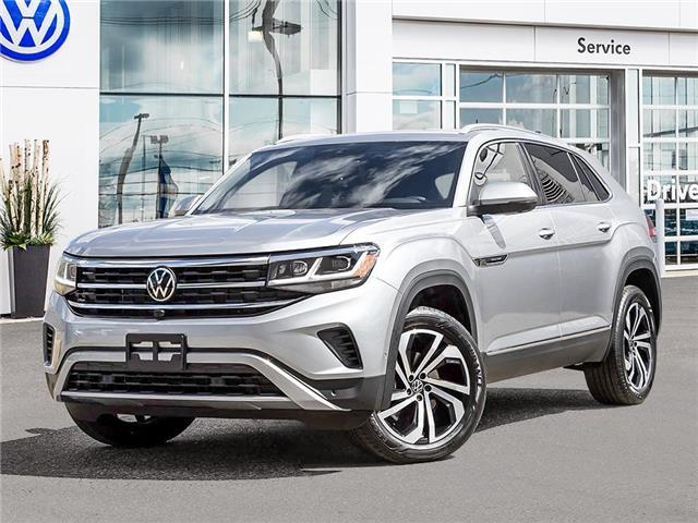 2021 Volkswagen Atlas Cross Sport 3.6 FSI Execline (Stk: AC21033) in Sault Ste. Marie - Image 1 of 23