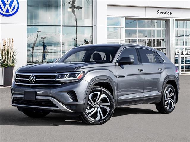 2021 Volkswagen Atlas Cross Sport 3.6 FSI Execline (Stk: AC21032) in Sault Ste. Marie - Image 1 of 23