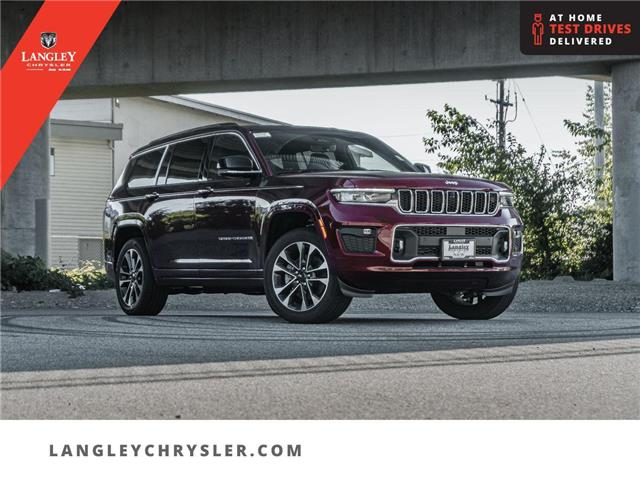 2021 Jeep Grand Cherokee L Overland (Stk: M147934) in Surrey - Image 1 of 30