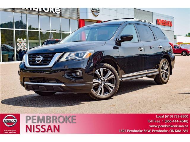 2018 Nissan Pathfinder Platinum (Stk: P237) in Pembroke - Image 1 of 30