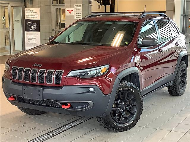 2019 Jeep Cherokee Trailhawk (Stk: P19471A) in Kingston - Image 1 of 12