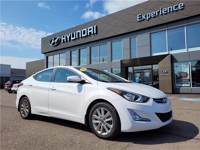 2015 Hyundai Elantra Sport Appearance (Stk: N1154A) in Charlottetown - Image 1 of 10