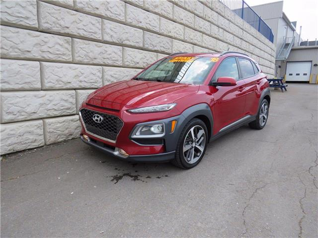 2018 Hyundai Kona Ultimate, Extended Warranty, Loaded (Stk: D10210A) in Fredericton - Image 1 of 15