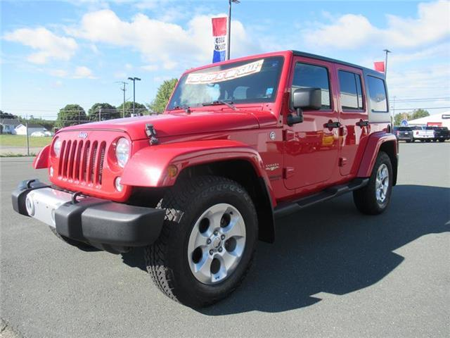2014 Jeep Wrangler Unlimited Sahara (Stk: 2021-T94A) in Bathurst - Image 1 of 19