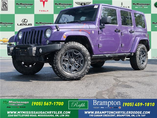 2016 Jeep Wrangler Unlimited Sahara (Stk: 1638) in Mississauga - Image 1 of 21