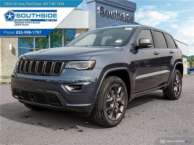 2021 Jeep Grand Cherokee Limited (Stk: GC2156) in Red Deer - Image 1 of 25