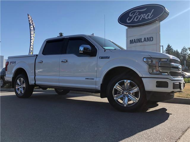 2018 Ford F-150 Platinum (Stk: P1318) in Vancouver - Image 1 of 27