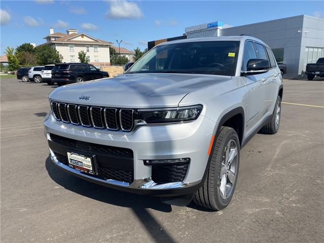 2021 Jeep Grand Cherokee L Limited (Stk: 21-241) in Ingersoll - Image 1 of 21