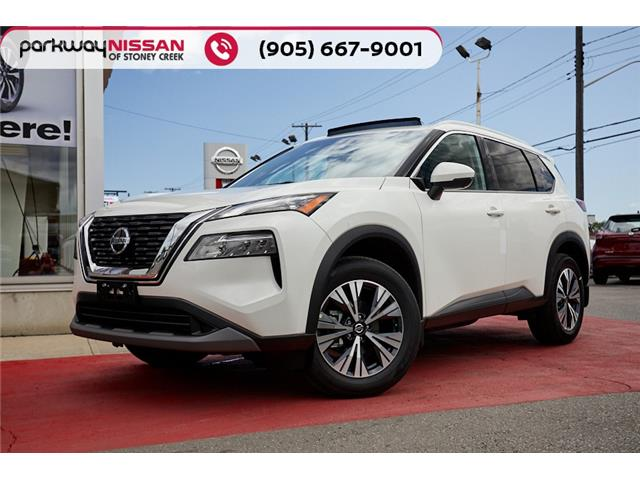2021 Nissan Rogue SV (Stk: N21121) in Hamilton - Image 1 of 27