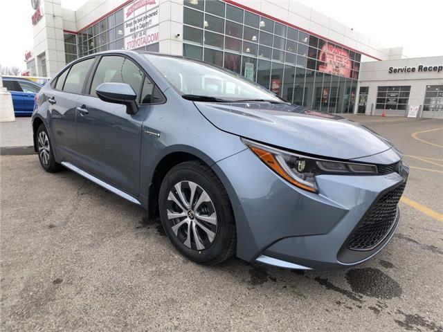 2022 Toyota Corolla Hybrid Base w/Li Battery (Stk: 220003) in Calgary - Image 1 of 11