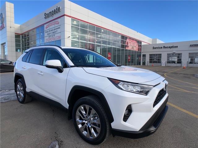 2021 Toyota RAV4 XLE (Stk: 210930) in Calgary - Image 1 of 13